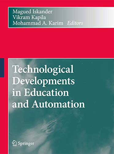 Technological Developments in Education and Automation: Magued Iskander