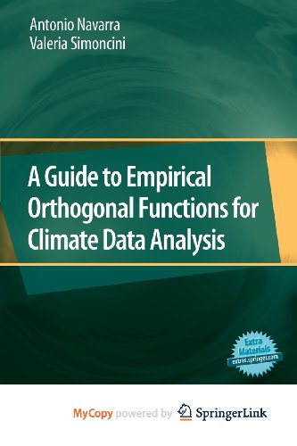 9789048137152: A Guide to Empirical Orthogonal Functions for Climate Data Analysis