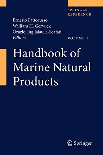 Handbook of Marine Natural Products. 2 Bände: Ernesto Fattorusso