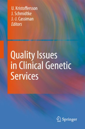 9789048139187: Quality Issues in Clinical Genetic Services