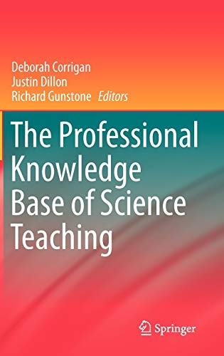 9789048139262: The Professional Knowledge Base of Science Teaching