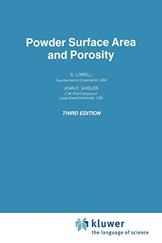 9789048140053: Powder Surface Area and Porosity (Particle Technology Series)