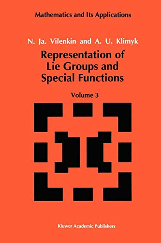 9789048141043: Representation of Lie Groups and Special Functions: Classical and Quantum Groups and Special Functions: 3
