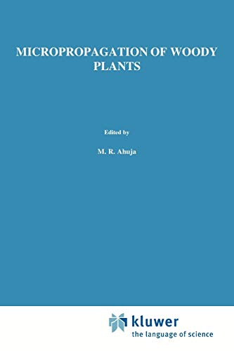 9789048141692: Micropropagation of Woody Plants (Forestry Sciences) (Volume 41)