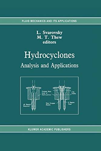 9789048141807: Hydrocyclones: Analysis and Applications (Fluid Mechanics and Its Applications)