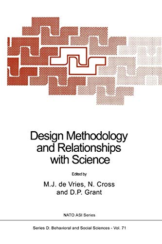 9789048142521: Design Methodology and Relationships with Science (Nato Science Series D:)