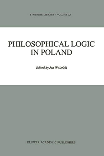 9789048142767: Philosophical Logic in Poland (Synthese Library)