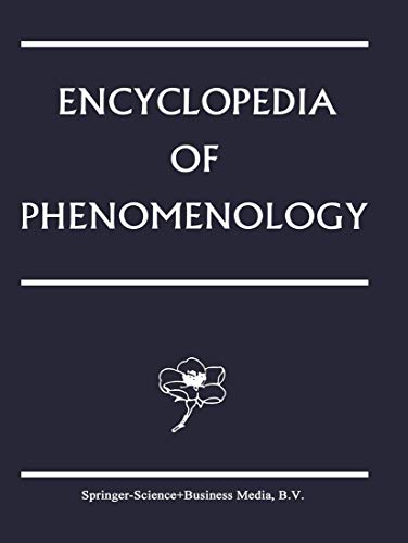 9789048144297: Encyclopedia of Phenomenology (Contributions To Phenomenology) (Volume 18)