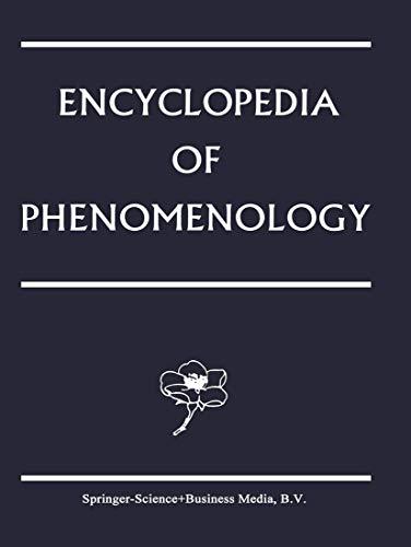 9789048144297: Encyclopedia of Phenomenology: 18