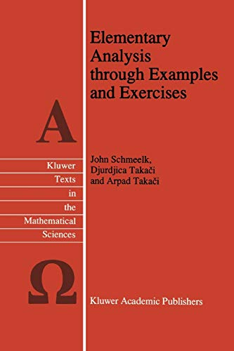 9789048145904: Elementary Analysis through Examples and Exercises (Texts in the Mathematical Sciences)