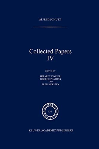 Collected Papers IV (Paperback) - A. Schutz
