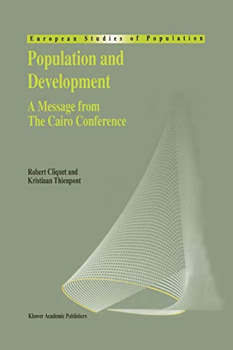 9789048146277: Population and Development: A Message from The Cairo Conference (European Studies of Population)