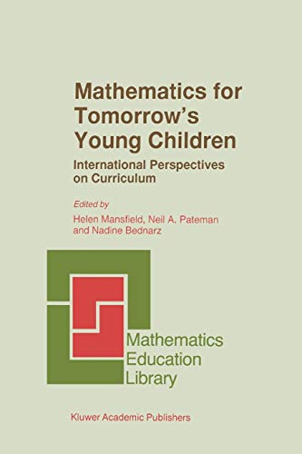 9789048146901: Mathematics for Tomorrow's Young Children (Mathematics Education Library)