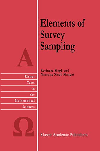 Elements of Survey Sampling: R. Singh