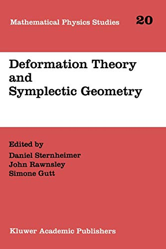 9789048148417: Deformation Theory and Symplectic Geometry (Mathematical Physics Studies)