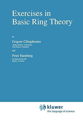 9789048149858: Exercises in Basic Ring Theory (Texts in the Mathematical Sciences)