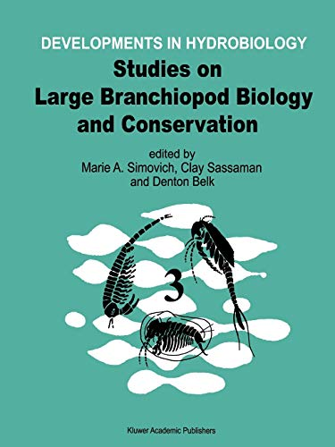 9789048150014: Studies on Large Branchiopod Biology and Conservation