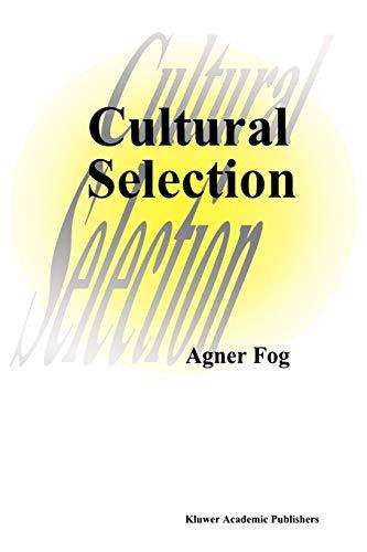 Cultural Selection (Paperback) - Agner Fog