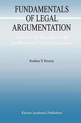 9789048151752: Fundamentals of Legal Argumentation: A Survey of Theories on the Justification of Judicial Decisions (Argumentation Library)