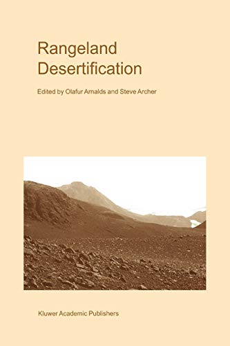 9789048153596: Rangeland Desertification (Advances in Vegetation Science)