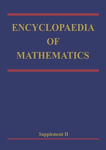 9789048153787: Encyclopaedia of Mathematics: Supplement Volume II