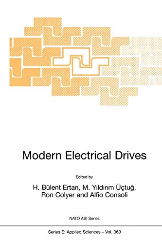 9789048154890: Modern Electrical Drives (Nato Science Series E:)