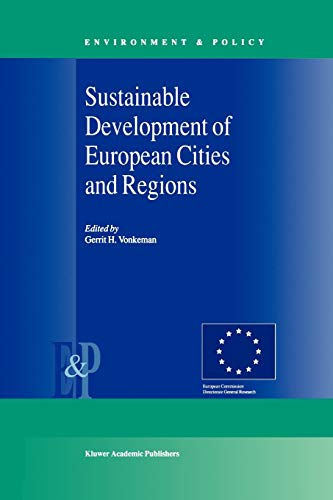 Sustainable Development of European Cities and Regions (Paperback)