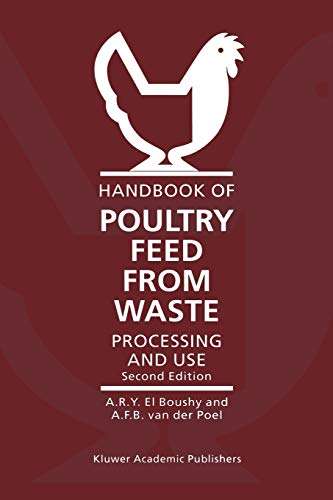 9789048155231: Handbook of Poultry Feed from Waste: Processing and Use