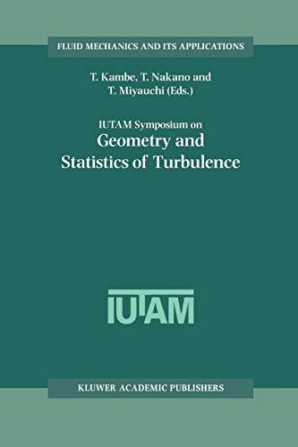IUTAM Symposium on Geometry and Statistics of Turbulence: Proceedings of the IUTAM Symposium held at the Shonan International Village Center, Hayama ... 1999 (Fluid Mechanics and Its Applications)
