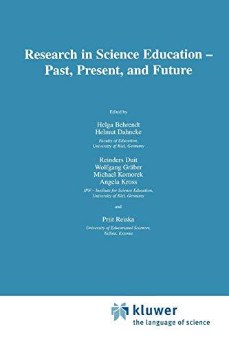 9789048156313: Research in Science Education ― Past, Present, and Future