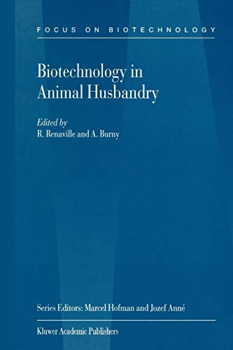 Biotechnology in Animal Husbandry Focus on Biotechnology Volume 5