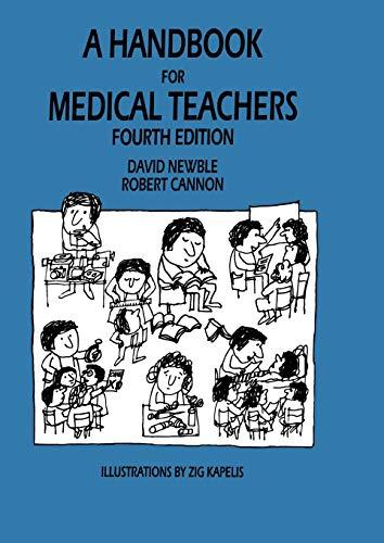 9789048157426: A Handbook for Medical Teachers
