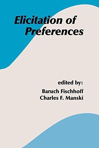9789048157761: Elicitation of Preferences