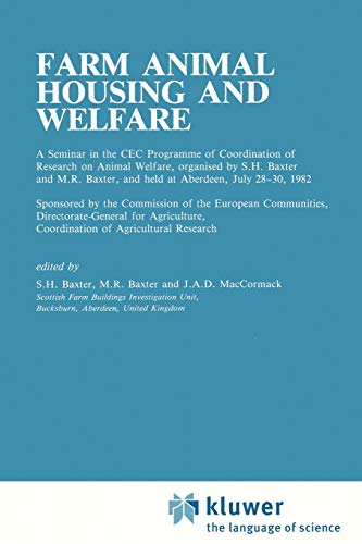9789048158195: Farm Animal Housing and Welfare (Current Topics in Veterinary Medicine)