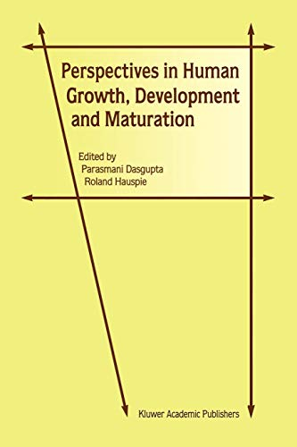 9789048158201: Perspectives in Human Growth, Development and Maturation