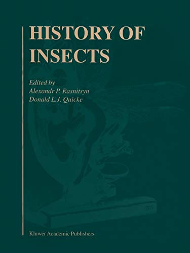 9789048158300: History of Insects