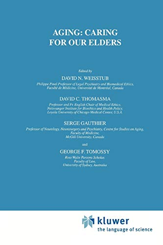 Aging: Caring for Our Elders: Volume 11 (International Library of Ethics, Law, and the New Medicine)