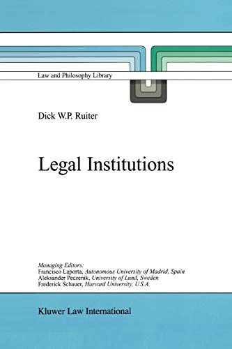 Legal Institutions: D. W. Ruiter