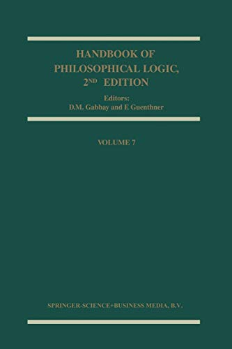 9789048160112: Handbook of Philosophical Logic: 7