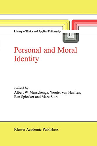 9789048160808: Personal and Moral Identity (Library of Ethics and Applied Philosophy)