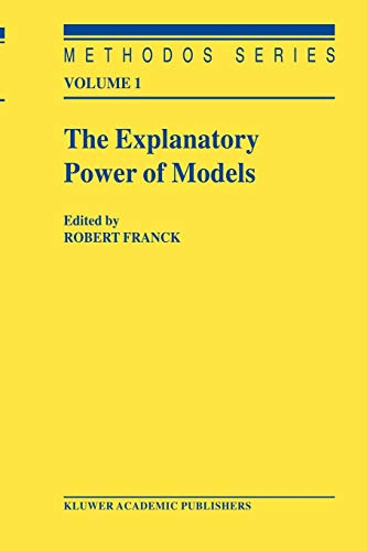 9789048161225: The Explanatory Power of Models: Bridging the Gap between Empirical and Theoretical Research in the Social Sciences (Methodos Series)