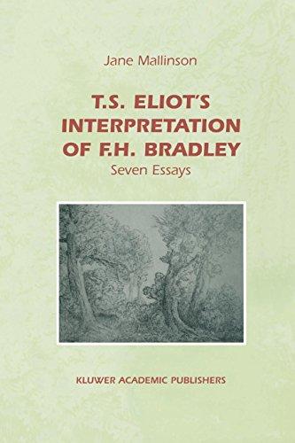 T.S. Eliot's Interpretation of F.H. Bradley - J. E. Mallinson