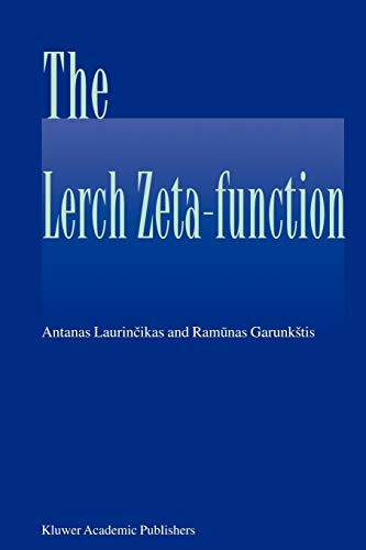 9789048161683: The Lerch zeta-function