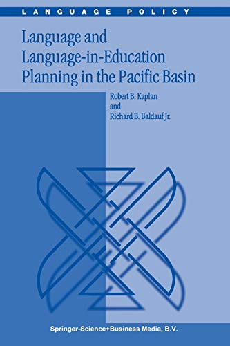9789048161935: Language and Language-in-Education Planning in the Pacific Basin (Language Policy)