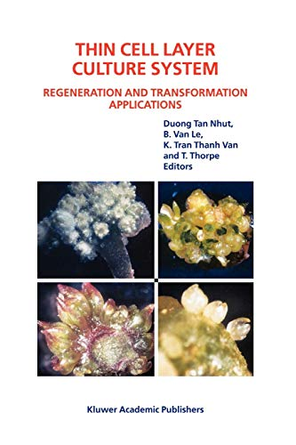 9789048162598: Thin Cell Layer Culture System: Regeneration and Transformation Applications