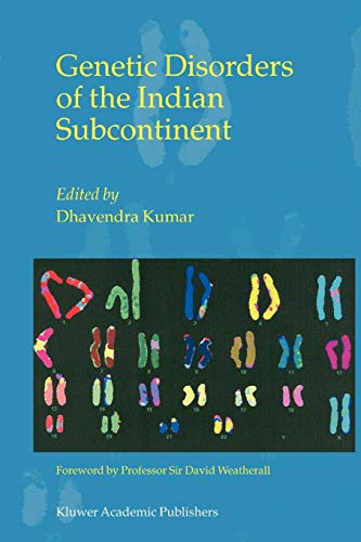 9789048162628: Genetic Disorders of the Indian Subcontinent