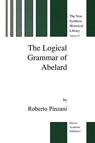 The Logical Grammar of Abelard: R. Pinzani