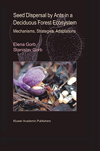 9789048163175: Seed Dispersal by Ants in a Deciduous Forest Ecosystem: Mechanisms, Strategies, Adaptations