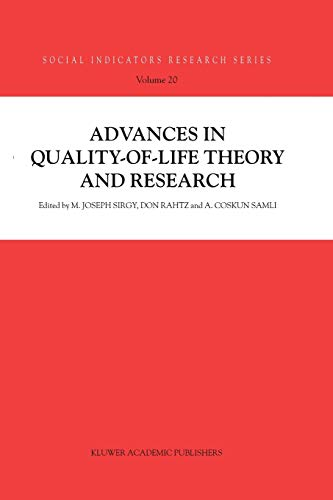 9789048163649: Advances In Quality-Of-Life Theory And Research (Social Indicators Research Series)