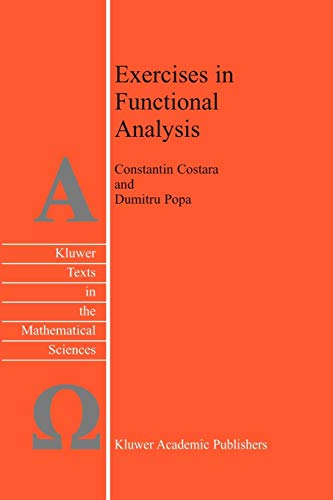 9789048163991: Exercises in Functional Analysis (Texts in the Mathematical Sciences)